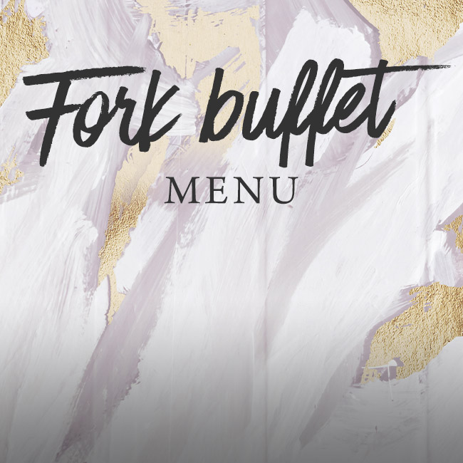 Fork buffet menu at The Crown