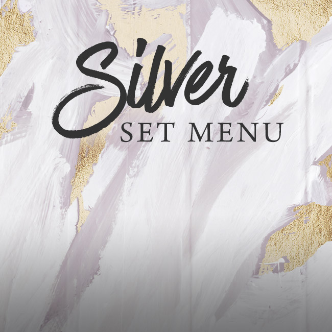 Silver set menu at The Crown