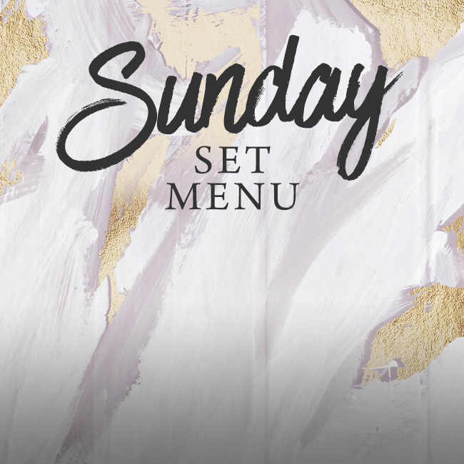 Sunday set menu at The Crown