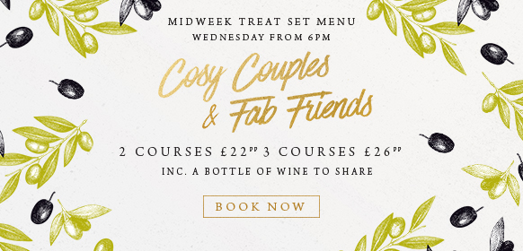 Midweek treat set menu at The Crown