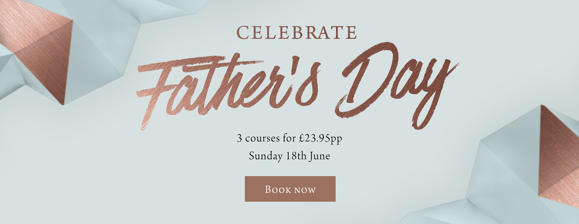 Father's Day at The Crown - Book now