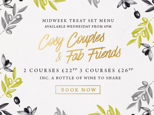 Midweek treat at The Crown - Book now
